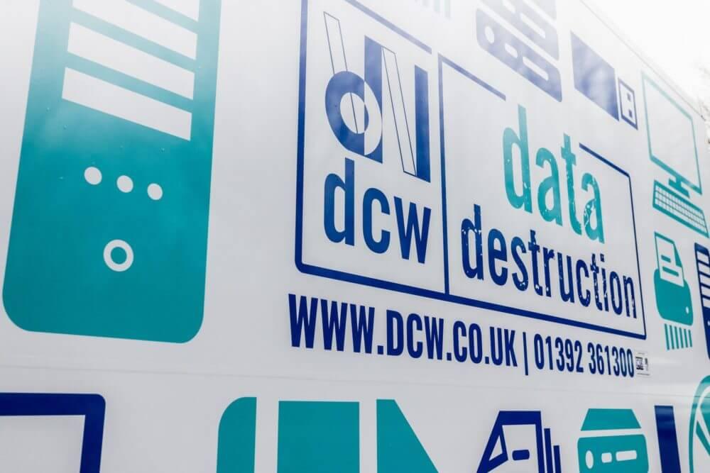 Devon Contract Waste data destruction logo